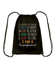 I am a Paraprofessional Drawstring Bag thumbnail