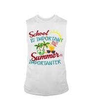 School is important But Summer Sleeveless Tee thumbnail