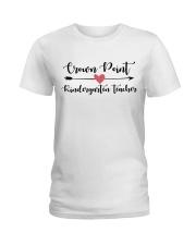 Crown point Kindergarten teacher Ladies T-Shirt thumbnail