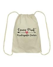 Crown point Kindergarten teacher Drawstring Bag thumbnail