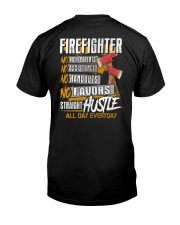 Firefighter - All Day Everyday Classic T-Shirt back