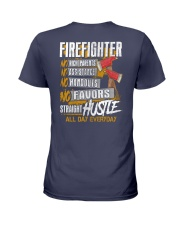 Firefighter - All Day Everyday Ladies T-Shirt thumbnail