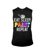 EAT SLEEP PAINT REPEAT Sleeveless Tee thumbnail