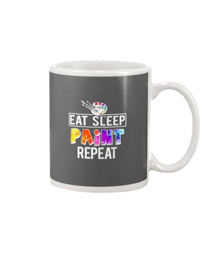 EAT SLEEP PAINT REPEAT