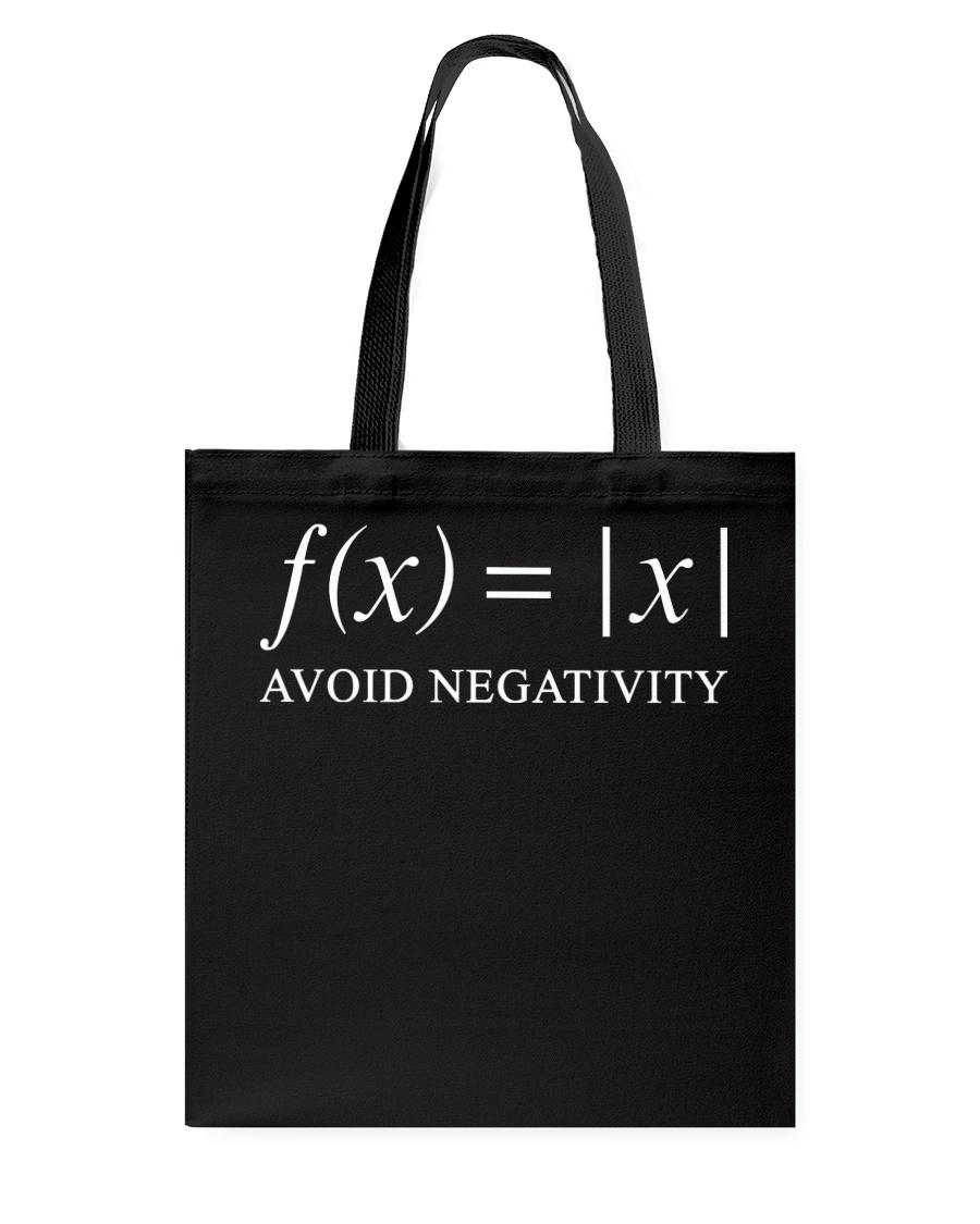 Avoid negativity Tote Bag