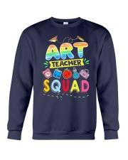 Art Teacher Squad Crewneck Sweatshirt thumbnail