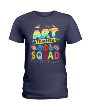 Art Teacher Squad Ladies T-Shirt thumbnail