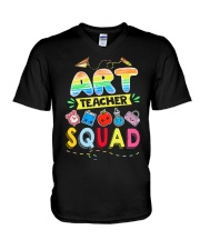 Art Teacher Squad V-Neck T-Shirt thumbnail