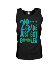 2nd grade cooler Unisex Tank tile