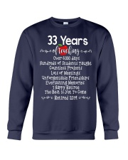 33 years of Teaching Crewneck Sweatshirt tile