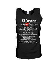33 years of Teaching Unisex Tank tile