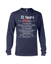 33 years of Teaching Long Sleeve Tee thumbnail
