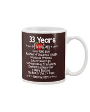 33 years of Teaching Mug tile