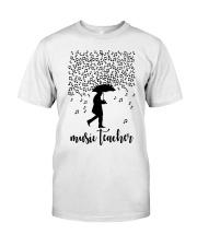 Music Teacher Classic T-Shirt front