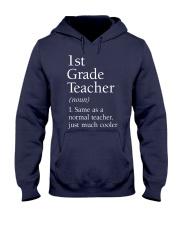 1st grade Teacher Hooded Sweatshirt thumbnail
