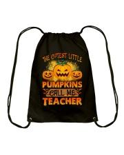 THE CUTEST LITTLE PUMPKINS CALL ME TEACHER Drawstring Bag thumbnail