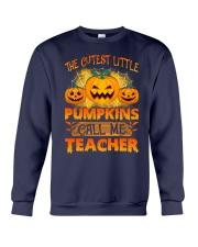 THE CUTEST LITTLE PUMPKINS CALL ME TEACHER Crewneck Sweatshirt thumbnail