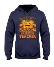 THE CUTEST LITTLE PUMPKINS CALL ME TEACHER Hooded Sweatshirt thumbnail