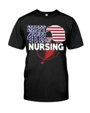 Happy 4TH of Nursing Classic T-Shirt thumbnail