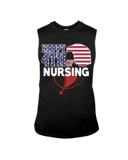 Happy 4TH of Nursing Sleeveless Tee thumbnail