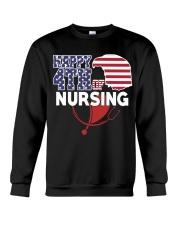 Happy 4TH of Nursing Crewneck Sweatshirt thumbnail