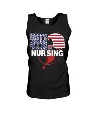 Happy 4TH of Nursing Unisex Tank thumbnail