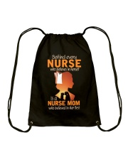 Perfect Gift for Nurse's Mom Drawstring Bag thumbnail