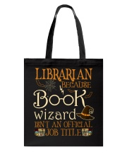 READ ALOUDS CHECK OUT BOOKMARKS COFFEE Tote Bag thumbnail