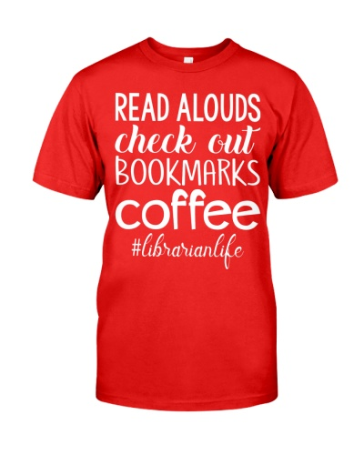 READ ALOUDS CHECK OUT BOOKMARKS COFFEE