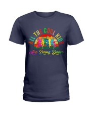 ALL THE COOL KIDS ARE DOING DANCE Ladies T-Shirt thumbnail