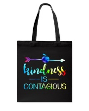 Kindness is Contagious Tote Bag thumbnail