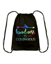 Kindness is Contagious Drawstring Bag thumbnail