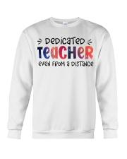 Dedicated Teacher Crewneck Sweatshirt thumbnail