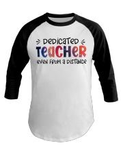 Dedicated Teacher Baseball Tee thumbnail
