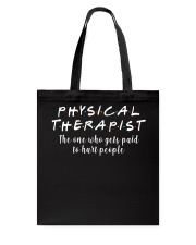 Physical Therapist Tote Bag thumbnail