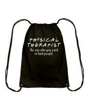 Physical Therapist Drawstring Bag tile