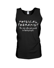 Physical Therapist Unisex Tank tile