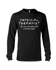 Physical Therapist Long Sleeve Tee thumbnail