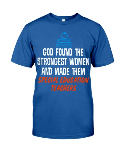 GOD FOUND THE STRONGEST