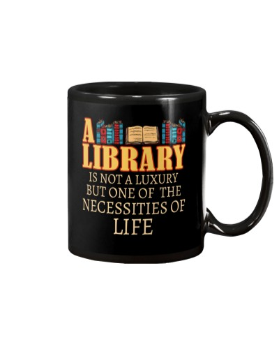 A library is not a luxury but one of the necessity