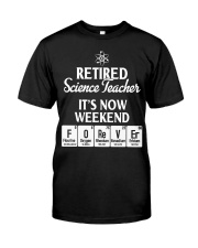 Retired Science Teacher Classic T-Shirt front