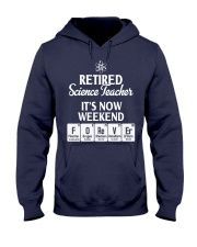 Retired Science Teacher Hooded Sweatshirt thumbnail