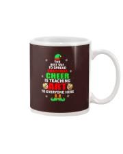 SPREAD CHRISTMAS CHEER IS TEACHING ART Mug thumbnail