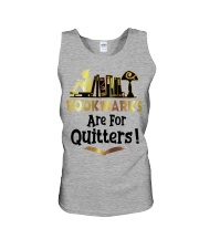 BookMarks are for Quitters Unisex Tank thumbnail