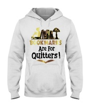 BookMarks are for Quitters Hooded Sweatshirt thumbnail