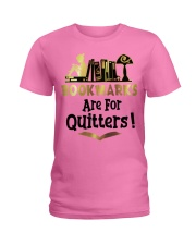 BookMarks are for Quitters Ladies T-Shirt thumbnail