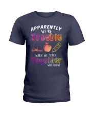 Teacher - We Teach together Ladies T-Shirt thumbnail