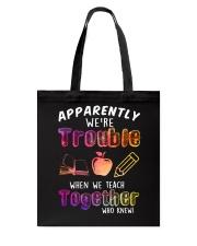 Teacher - We Teach together Tote Bag thumbnail