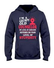 I'm a Grumpy Old Counselor Hooded Sweatshirt thumbnail