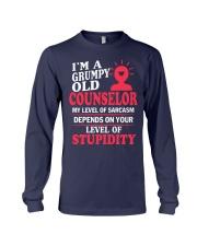 I'm a Grumpy Old Counselor Long Sleeve Tee thumbnail